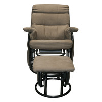 Bryant Glider Recliner with Ottoman