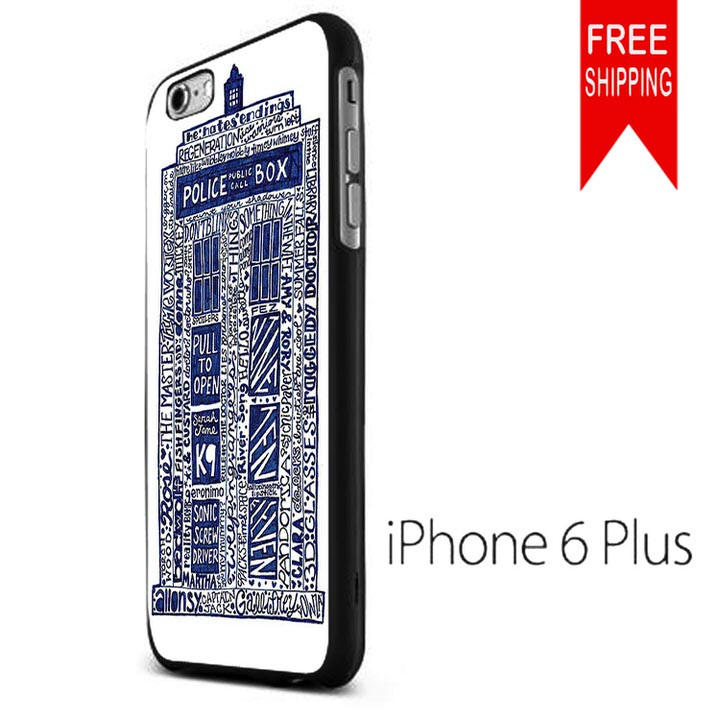 Doctor Who Tardis Art NN iPhone 6 Plus from iPhone Case Shop
