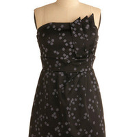 Raindrops on Shale Dress | Mod Retro Vintage Printed Dresses | ModCloth.com