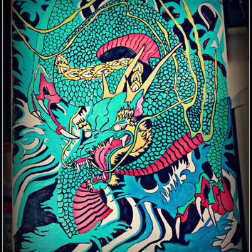 DRAGON JAPANESE PAiNTiNG