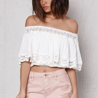 PacSun Wildflower Ripped Mid Rise Denim Shorts at PacSun.com