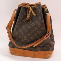 Authentic LOUIS VUITTON MONOGRAM NOE SHOULDER BAG *A2 8901