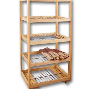 Bakery Bread Rack with 5 Wire Shelves 101153