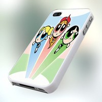 PCFA91 Powerpuff Girls Design For IPhone 4 or 4S Case / Cover