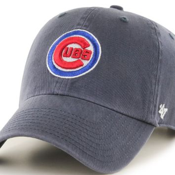 84987b38069 Chicago Cubs Clean Up Adjustable Vintage Hat By  47 Brand