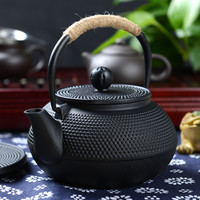 Japan Southern Cast iron kettle old iron pot shells Japanese tea pots health boiler scale iron pot 900ml
