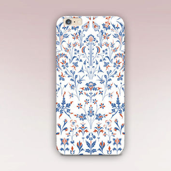 Floral Phone Case - iPhone 6 Case - iPhone 5 Case - iPhone 4 Case - Samsung S4 Case - iPhone 5C - Tough Case - Matte Case - Samsung