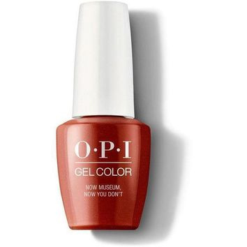 OPI GelColor - Now Museum, Now You Dont 0.5 oz - #GCL21