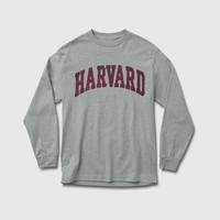 harvard adult Long sleeve T Shirt