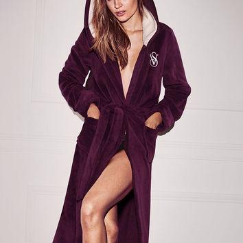 The Cozy Hooded Long Robe - Victoria's Secret