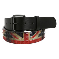 Union Jack Pyramid Belt