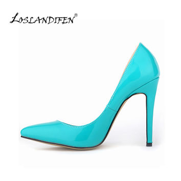Sexy Pointed Toe High Heels Women Pumps Shoes New Spring Brand Design Ladies Wedding Shoes Summer Dress Pumps Size 35-42 302-1PA