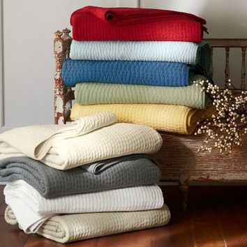 pick stich quilt   Pottery Barn