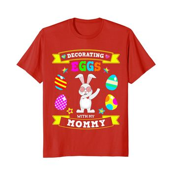 Dabbing Easter Bunny Tee Shirt for Son & Daughter Kids Youth