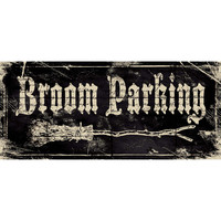 Stephanie Marrott 'Broom Parking' Paper Print (Unframed)