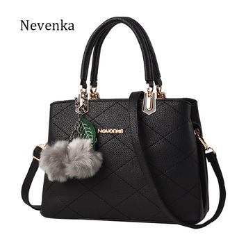 Nevenka Women Bag Original Female Briefcase Handbag OL Shoulder Bag PU Messenger Bags Casual Crossbody Bags Purse Satchel Tote