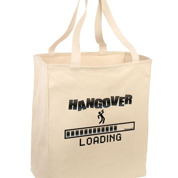 Hangover Loading Large Grocery Tote Bag
