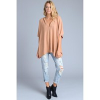 Palmer French Terry Poncho