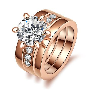 Rose Gold Wedding Jewelry Ring
