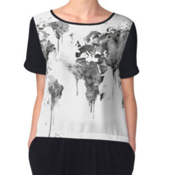 'World Map' Photographic Print by MonnPrint