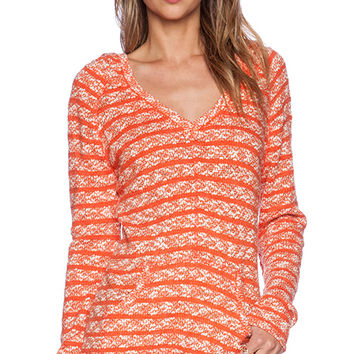 Sanctuary Baja Hoody Tee in Orange