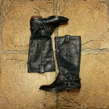 Vintage Lucky Brand Cowboy Boots Size 5.5