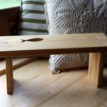Prayer Stool - Meditation bench - Kneeler - Kneeling Prayer Bench - Meditation Stool - Handmade Furniture - Solid Larch Wood - Knee Chair
