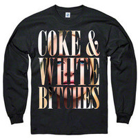 "A$AP Ant — ""Coke & White Bitches"" Long Sleeve Tees"