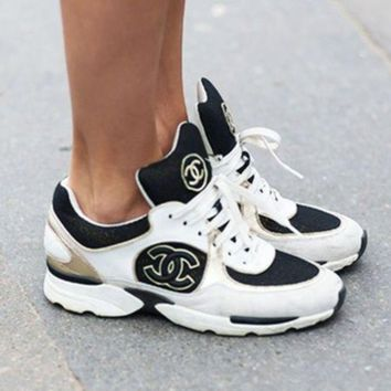 CHANEL Women Fashion Casual Shoes Sneakers Sport Shoes