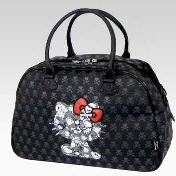 shop.sanrio.com - Tokidoki x Hello Kitty Boston Bag: Black