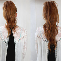Easy Hair Trick: Super Long Ponytail - Free People Blog