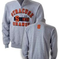 Syracuse University Bookstore - Syracuse Est. 1870 Quarter-Zip Crew