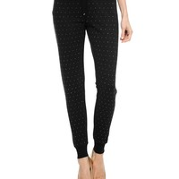 All Over Stud Slim Pant by Juicy Couture