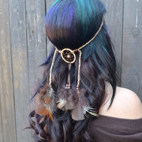 Brown Dreamcatcher Headband