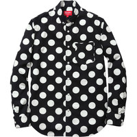 Supreme: Big Dot Shirt - Black