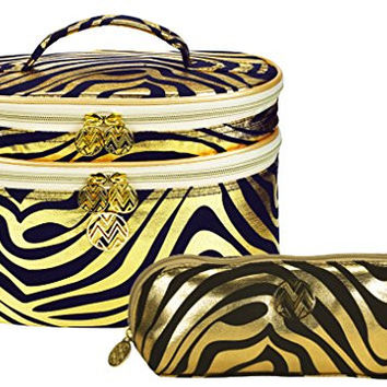 Macbeth 2014 Holiday Collection: Train Case & Makeup Bag (Trina Leopard)
