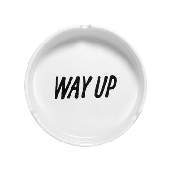 WAY UP ASHTRAY CERAMIC ASHTRAY | October's Very Own