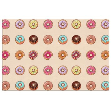 Donuts Donuts Everywhere Canvas Print