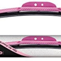 "AutoTex PINK Plus AP-PF20 Flex Windshield Wiper Blade with Pink Frame - 20"" (Pack of 1)"