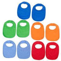 Babies R Us Boys 10-Pack Bibs - Brights
