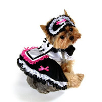 French Maid Dog Costume - Extra Small