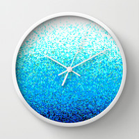 OCEAN Wall Clock by Alexia Miles photography