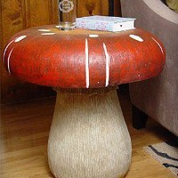 Oversized Mushroom Side Table review at Kaboodle
