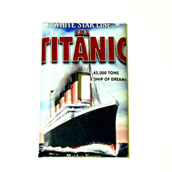 Light Switch Cover - Light Switch Plate Titanic White Star Line Vintage Advertising Poster