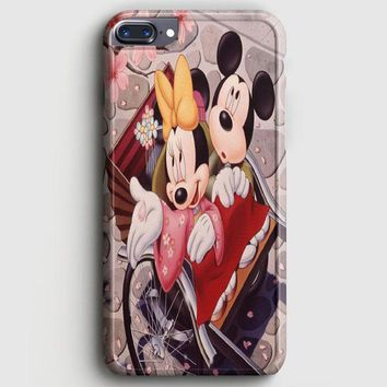 Romantic Mickey Mouse And Minnie Mouse iPhone 8 Plus Case | casescraft