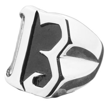 Men's Cool Lucky 13 Biker Ring - Complimentary Shipping