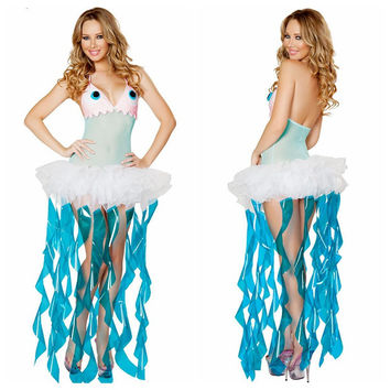 Cosplay Sea Halloween Costume [9220652100]