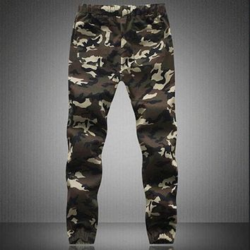 Men's Camouflage Camo Casual Pants Boy Joggers casual  Sweatpants Trousers Summer Discount Summer Discount