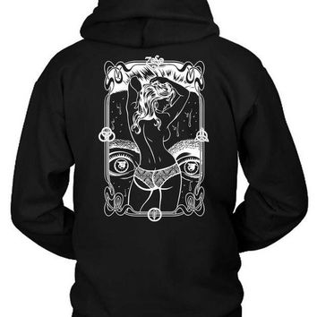 CREYH9S Led Zeppelin Og Hoodie Two Sided
