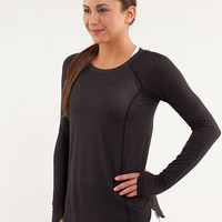 run: turn it up long sleeve | women's tops | lululemon athletica
